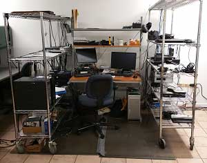 Northside Tech Support Shop Workstation